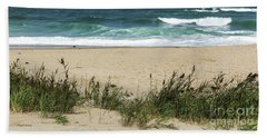 Seashore Retreat Hand Towel by Michelle Wiarda