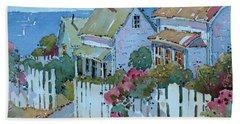 Seaside Cottages Bath Towel