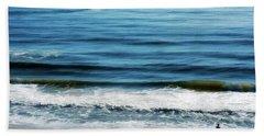 Seaside Fisherman Bath Towel by Glenn Gemmell