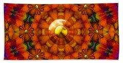 Hand Towel featuring the digital art Seasons by Robert Orinski