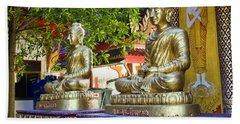 Seated Buddhas Bath Towel