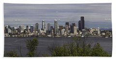 Seattle At Its Best Hand Towel