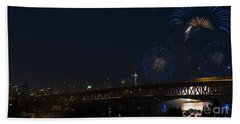 Seattle Fireworks Hand Towel