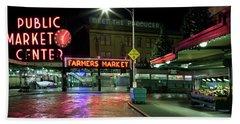 Seattle Public Market 1 Hand Towel