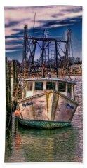 Seaworthy II Bristol Rhode Island Hand Towel by Tom Prendergast