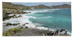 Secluded Beach Hand Towel