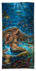 Secret Garden In The Sea Hand Towel