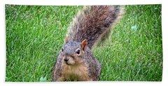 Secret Squirrel Hand Towel