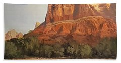 Sedona Afternoon In May Hand Towel