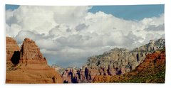 Bath Towel featuring the photograph Sedona Arizona by Bill Gallagher
