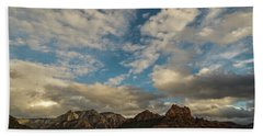 Hand Towel featuring the photograph Sedona Arizona Redrock Country Landscape Fx1 by David Haskett