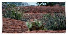 Sedona Cactus Bath Towel by Kirt Tisdale