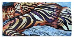 Seduction Of Stripes Bath Towel