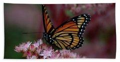 Sedum Butterfly Hand Towel