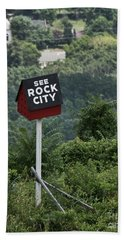 See Rock City Bath Towel
