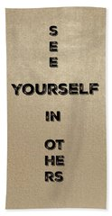 See Yourself #4 Hand Towel
