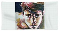 Self Portrait 2016 Hand Towel