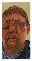 Self Portrait Hand Towel