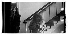 Self-portrait, With Woman, In Mirror, Full Frame, 1972 Bath Towel