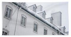 Seminary Of Quebec City In Old Town Bath Towel