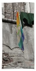 Bath Towel featuring the photograph Semplicita - Venice by Tom Cameron