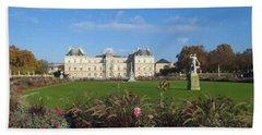 Senate From Jardin Du Luxembourg Hand Towel