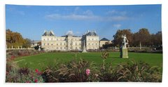 Senate From Jardin Du Luxembourg Bath Towel
