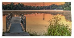 Seneca Falls Sunrise Bath Towel