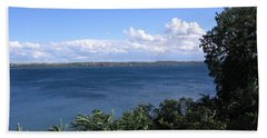 Seneca Lake Finger Lakes New York Bath Towel