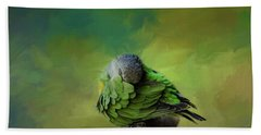 Senegal Parrot Bath Towel
