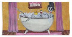 Senorita Sangria Bath Towel