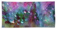 Sensations II  Bath Towel by Don Wright