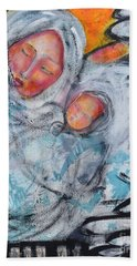 Sentimental Journey Hand Towel by Gail Butters Cohen