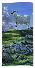 Sentinal Of The Highlands Hand Towel