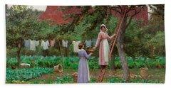 September Hand Towel by Edmund Blair Leighton