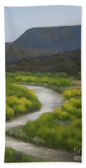 September On The Rio Chama Hand Towel