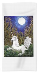 September Unicorn Hand Towel