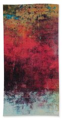 Bath Towel featuring the mixed media Ser. 1 #02 by Writermore Arts