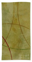 Bath Towel featuring the mixed media Ser. 1 #06 by Writermore Arts