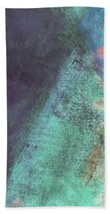 Bath Towel featuring the mixed media Ser. 1 #07 by Writermore Arts