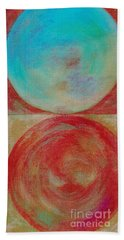 Bath Towel featuring the mixed media Ser.2 #02 by Writermore Arts