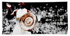 Serena 2016 Wimbledon Victory Bath Towel