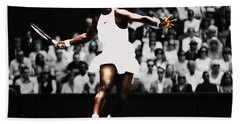 Serena Williams Defining Moment Hand Towel