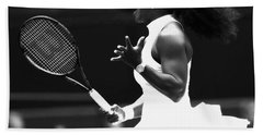Serena Williams Making Magic Happen Hand Towel