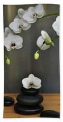 Serene Orchid Bath Towel
