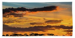 Serengeti Sunset Bath Towel