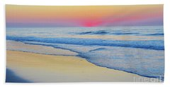 Serenity Beach Sunrise Bath Towel