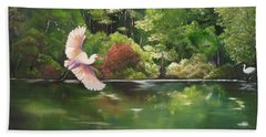 Serenity Hand Towel by Carol Sweetwood
