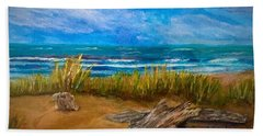 Serenity On A Florida Beach Hand Towel
