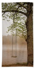 Serenity On The Lake Hand Towel